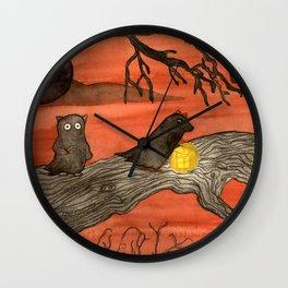 Evil Doers Wall Clock
