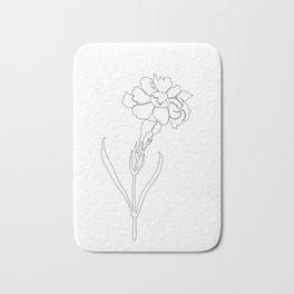 Carnation Lines Bath Mat