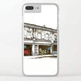 Shutters, Grantham Street, Dublin Clear iPhone Case