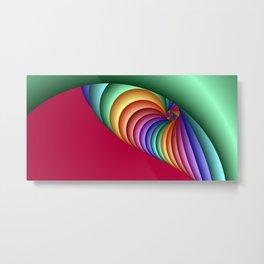 time for fractals -3- Metal Print