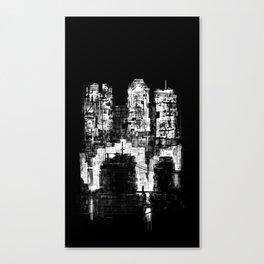 Structure Sprawl Canvas Print