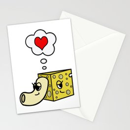 Mac -N- Cheese Love Stationery Cards