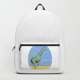 Girafe printemps Backpack
