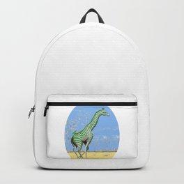 Girafe printemps Backpack