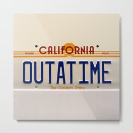 California Out A Time Metal Print
