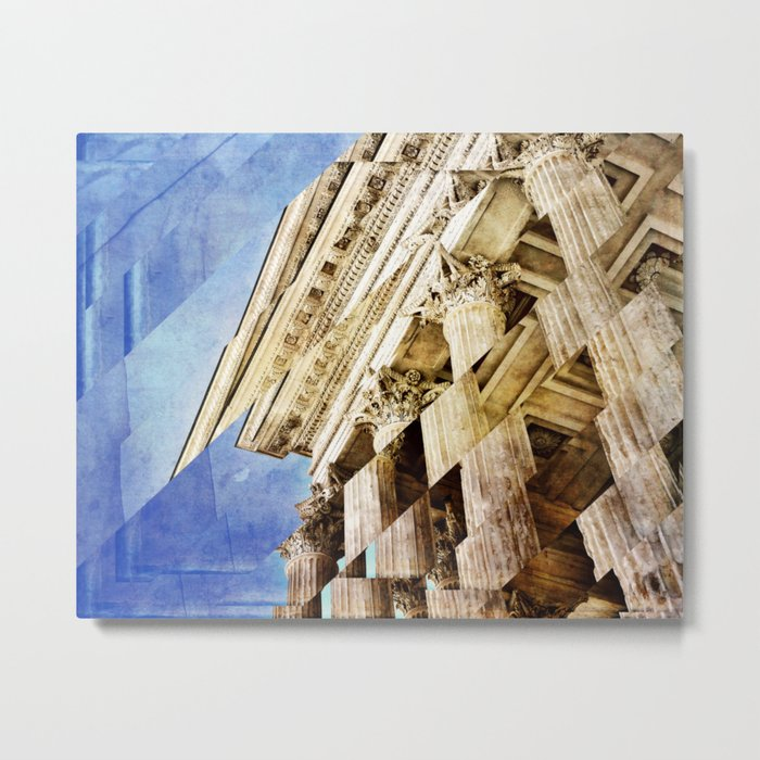 Pieces of Empire Deconstructed Metal Print