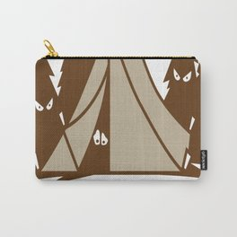Camping Is In-Tents Carry-All Pouch