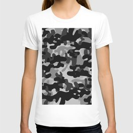 Camouflage (Gray) T-shirt