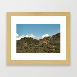 Travel Photography: Cinque Terre, Italy Framed Art Print