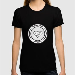 Thrift Shop Threads Button_Diamond T-shirt