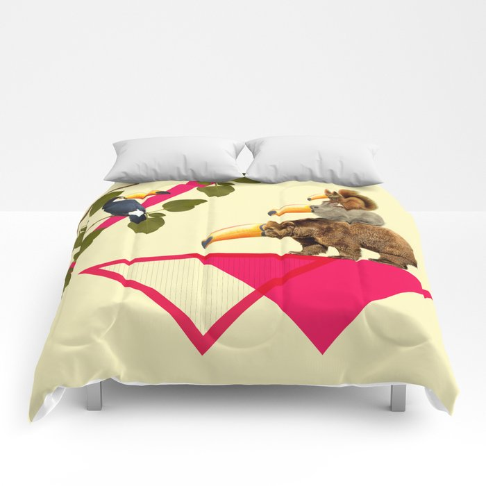everybody would love to be a toucan  Comforters