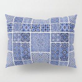 HOMEMADE BLUE ZELLIGE PATTERN Pillow Sham