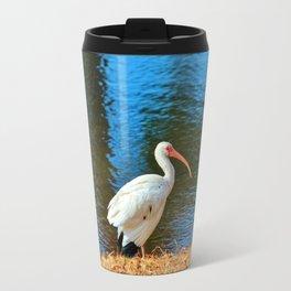 White Ibis Travel Mug