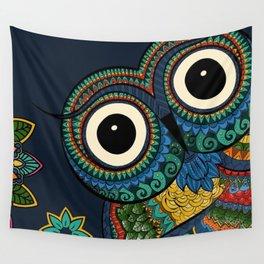 Owl Ooh-La-La Wall Tapestry