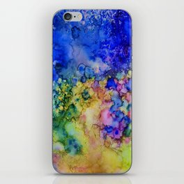 the conglomerate of color iPhone Skin