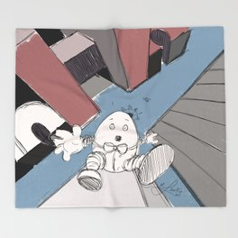 Humpty Dumpty's Free Fall Throw Blanket