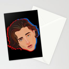 Timothée Chalamet in 3D Stationery Cards