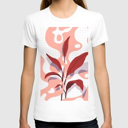 Flat Plant and Blobs T-shirt