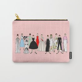 Think Pink Outfits Fashion Audrey Carry-All Pouch