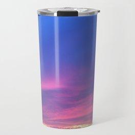 Blue & Purple Sunset Travel Mug
