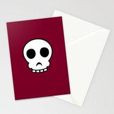 Goofy skull Stationery Cards