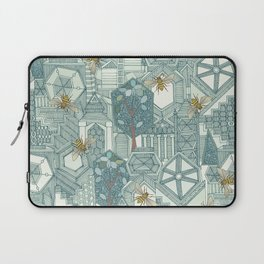hexagon city Laptop Sleeve