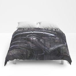 Alien Xenomorph Giger Comforters