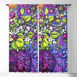 Butterflytopia by Laura Zollar Blackout Curtain