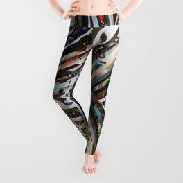 Marble Wisdom Love Veins 1 Leggings