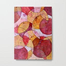 Moving Circles No.2 Metal Print
