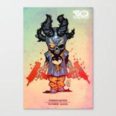 Z gang - Firestarter - Villains of G universe Canvas Print