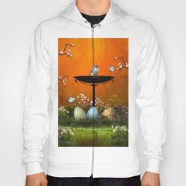 Easter eggs in the grass Hoody