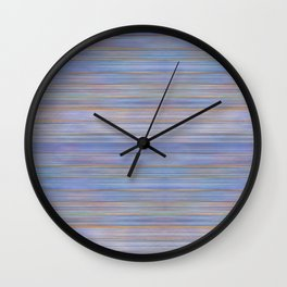 Colorful Abstract Stripped Pattern Wall Clock