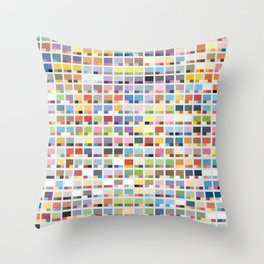 Complete Poke-Pantone  Throw Pillow