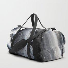 Marble B/W/G Duffle Bag