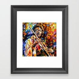 Halo Jimi Framed Art Print