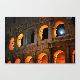 Coliseum Canvas Print