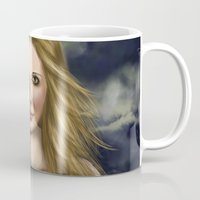 buffy the vampire slayer Mugs featuring Buffy Summers by Jade Todd