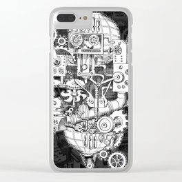 Hungry Gears Clear iPhone Case