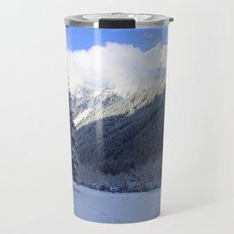 Alpine Winterscene Travel Mug