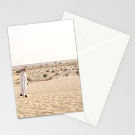 Falconry in the Middle East Stationery Cards