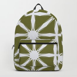 Modern Moroccan criss cross Backpack