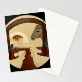 Nativity 2016 - Original Painting Stationery Cards