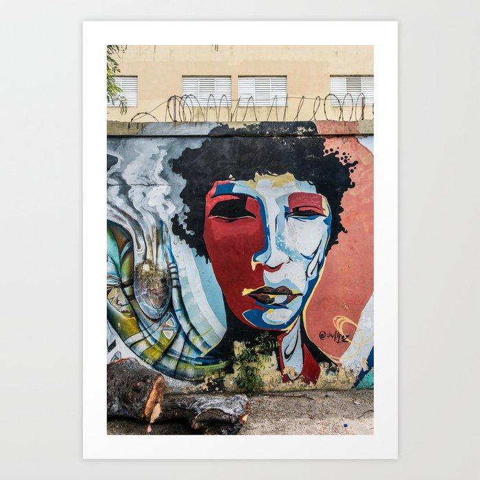 AFH 2018 Street Art 7 Art Print