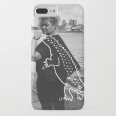 The Urban Crocodile Huntress iPhone 7 Plus Slim Case