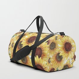 Sunflowers Bloom  Duffle Bag