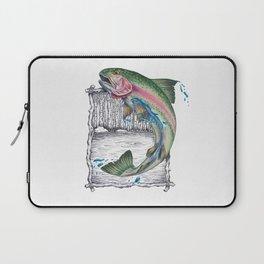 Trout Fishing in the Sierra Nevada's Laptop Sleeve