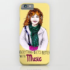 Everything get's better with MUSIC iPhone 6s Slim Case