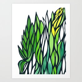 Nature's Texture Art Print