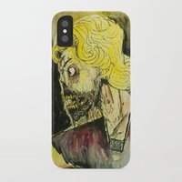 zombies iPhone & iPod Cases featuring zombies by Marcelo O. Maffei